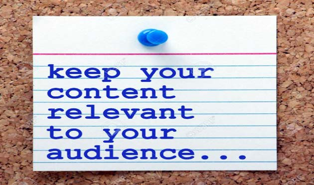 how-to-write-compelling-blog-posts-Keep-your-content-relevant-to-the-audience