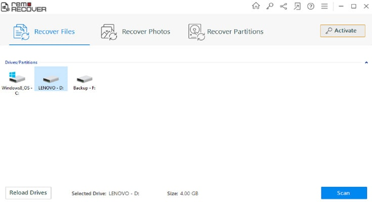 Remo File Recovery Software